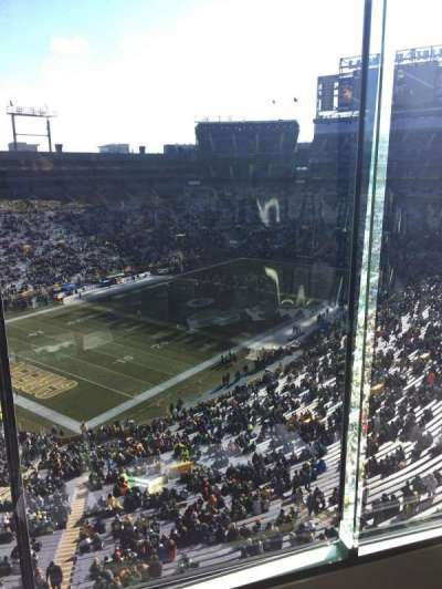 Lambeau Field, section: 672, row: 5, seat: 1