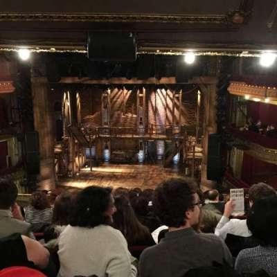 CIBC Theatre, section: Mezzanine RC, row: K, seat: 314