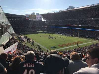 Soldier Field, section: 356, row: 6, seat: 7