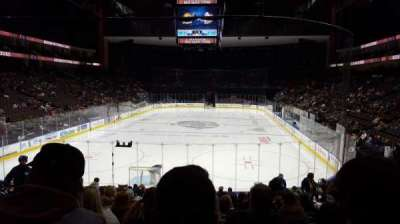 Jacksonville Veterans Memorial Arena, section: 108, row: R, seat: 9