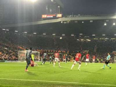 Old Trafford, section: N1404, row: BB, seat: 226