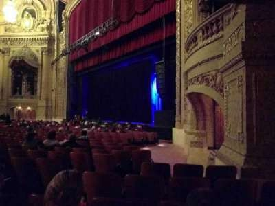 Chicago Theatre, section: MNFL1R, row: D, seat: 112
