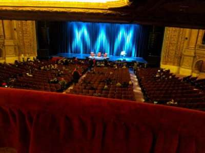 Chicago Theatre, section: Box, row: M, seat: 1