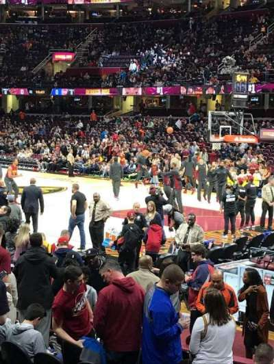 Quicken Loans Arena, section: 126, row: 11, seat: 16