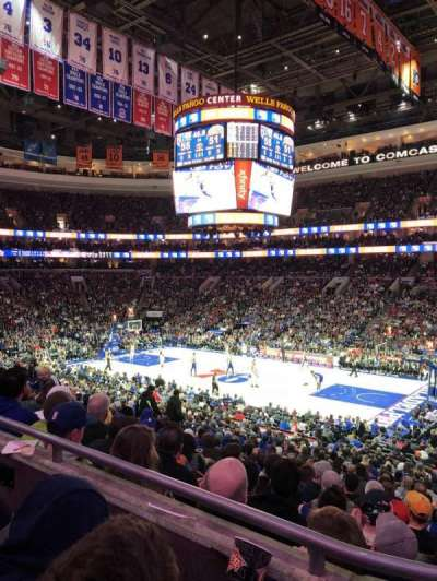 Wells Fargo Center section CB 15