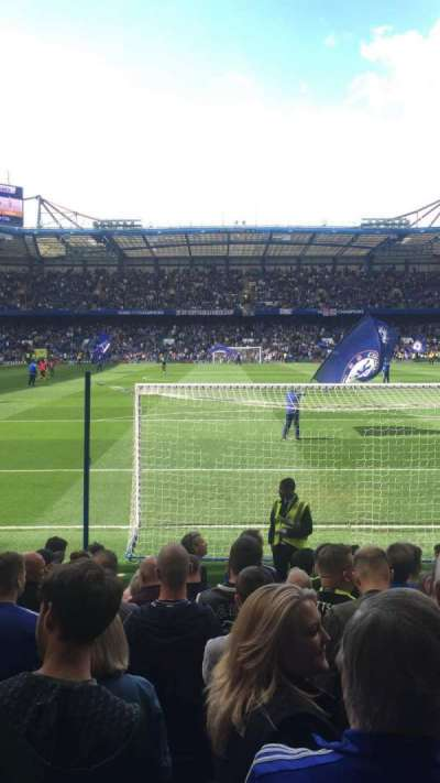 Stamford Bridge, section: Shed End lower, row: 11, seat: 113