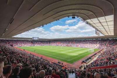 St Mary's Stadium, section: 25