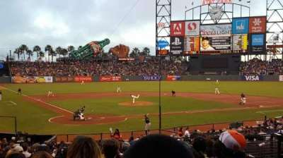 AT&T Park, section: 113, row: 29, seat: 5