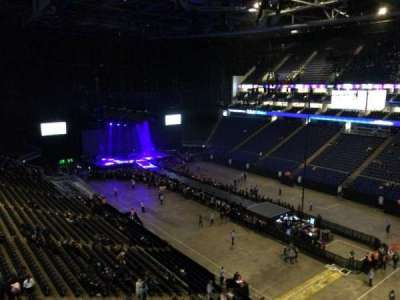 The O2 Arena, section: 407, row: A, seat: 614