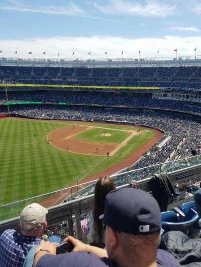 Yankee Stadium, section: 431b, row: 3, seat: 6