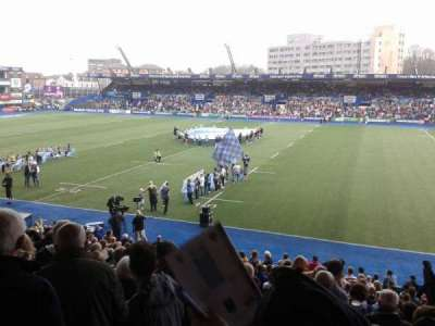 Cardiff Arms Park, section: South Stand Block 2, row: L, seat: 17