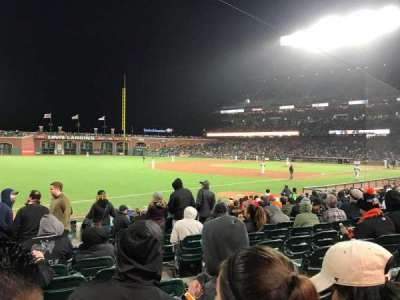 AT&T Park section LB129
