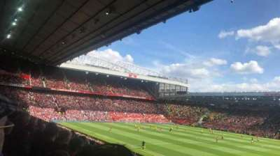 Old Trafford, section: Sir Alex Ferguson stand, row: 14