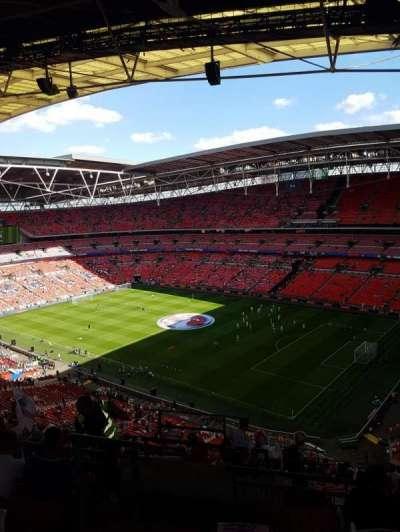 Wembley Stadium, section: 547, row: 19, seat: 219