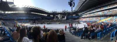 Etihad Stadium (Manchester), section: 114, row: P, seat: 355