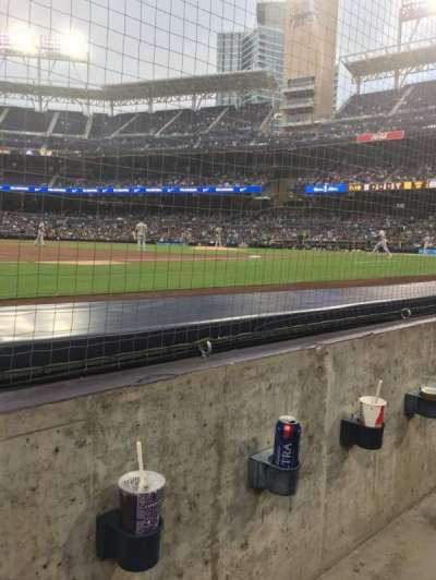 PETCO Park, section: 114, row: 1, seat: 10