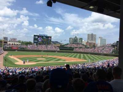 Wrigley Field, section: 224, row: 8, seat: 107
