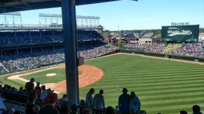 Wrigley Field, section: 536, row: 5, seat: 7