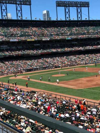 AT&T Park, section: 202, row: A, seat: 13