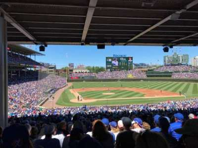 Wrigley Field, section: 224, row: 15, seat: 4