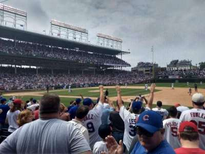 Wrigley field, section: 32, row: 10, seat: 3