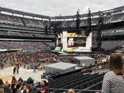 MetLife Stadium, section: 115a, row: 17, seat: 7
