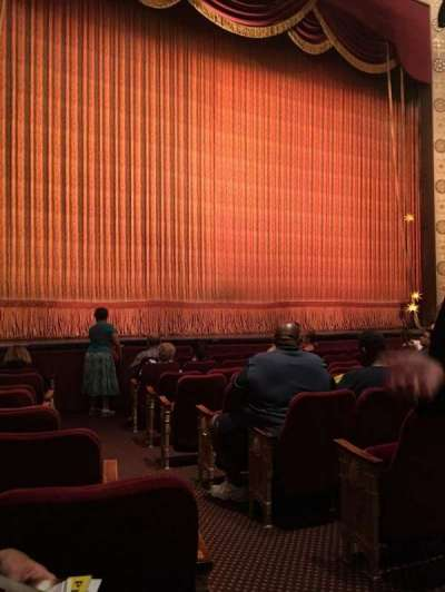 Imperial Theatre, section: Orchestra, row: J, seat: 4