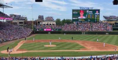Wrigley Field, section: 228, row: 15, seat: 110