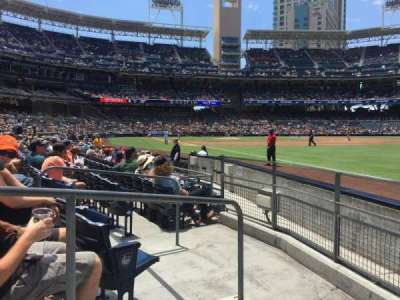 PETCO Park, section: 121, row: 9, seat: 2
