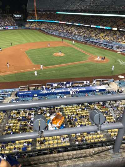 DODGER STADIUM section 19RS