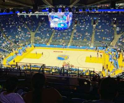Oakland Arena section 231