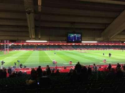 Principality Stadium section L11