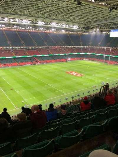 Principality Stadium section U34