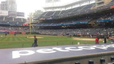 Petco Park, section: FV108, row: 10, seat: 23