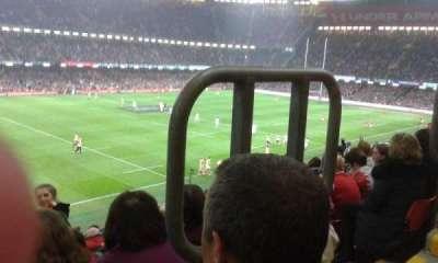 Principality Stadium section M13