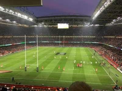 Principality Stadium section UN1