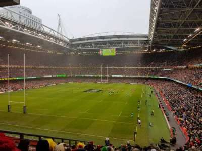 Principality Stadium section M38