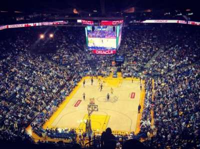 Oakland Arena section 208