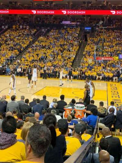 Oakland Arena section 127