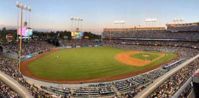 DODGER STADIUM section 35RS