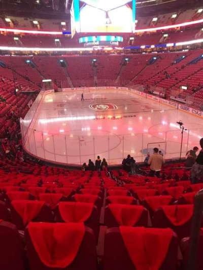 Centre Bell, section: 108, row: O, seat: 2