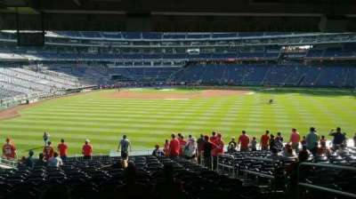 Nationals Park, section: 140, row: Z, seat: 4