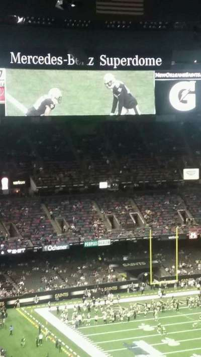Mercedes-Benz Superdome, section: 607, row: 20, seat: 17