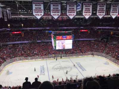 Capital One Arena, section: 418, row: 6