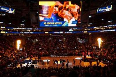 Vivint Smart Home Arena, section: 18, row: 22, seat: 13