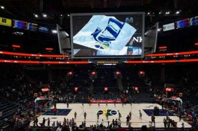 Vivint Smart Home Arena, section: 18, row: 22, seat: 14