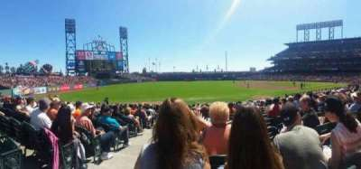 AT&T Park section LB128