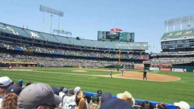 Oakland Alameda Coliseum, section: 111, row: 5, seat: 2