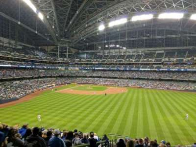 Miller Park, section: 201, row: 14, seat: 1