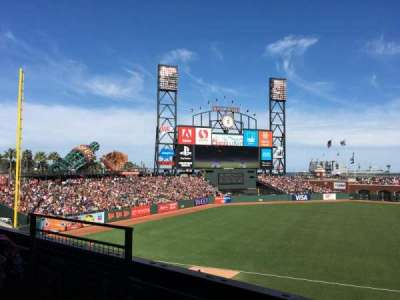 AT&T Park, section: 226, row: B, seat: 7